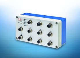 New IF2008/ETH Interface Module Integrates up to Eight Sensors and/or Encoders