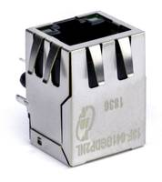 New RJ45 Jack and Connector with Integrated Magnetic Modules