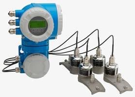 New P 500 Ultrasonic Flow Measuring System with Heartbeat Technology