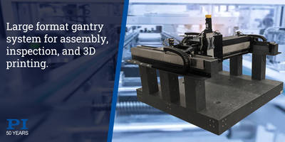 New XY/XYZ Gantry Stage with Ironless 3-Phase Linear Motors