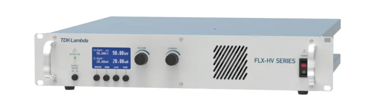 FLX-HV Series Flexible and Versatile High Voltage Power Supplies, from 10,000 to 50,000 Volts, 200 to 1,000 Watts, with Standard USB/LAN and Active PFC