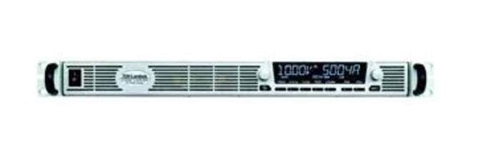 GENESYS+™ New Generation Full-Rack 1U AC/DC Programmable Power Supply Series Delivers 5kW Output Power with Advanced Features/Functions