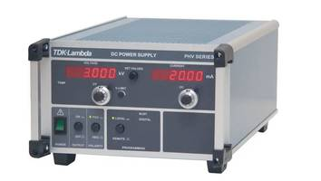 PHV Series, Precision High Voltage DC Power from 125V to 300,000V, 14W to 15,000W with A Broad Range of Optional Features and Control Interfaces.