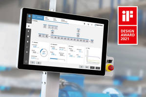 New CSpro Extruder Control Can Now be Operated by Touch