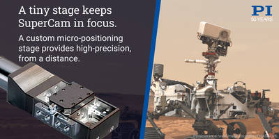 Miniature Linear Stage on Mars Rover Helps Provide Precision Focus Control for SuperCam