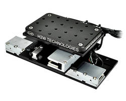 Low Profile XY Brushless Linear Motor Positioning Stage