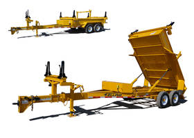 New PCD Trailer With 24ft Retracted and 40ft Extended Overall Length