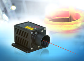 High-performance Laser Distance Sensor for Large Measurement Distances in Industrial Applications