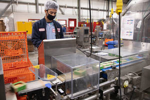 Table Talk Pies Packaging Line Bakes Quality into Every Bite with Mettler-Toledo Hi-Speed Checkweigher