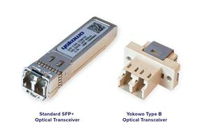 New Type B Optical Transceiver with Low Power Consumption of 150 mW