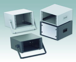 New 10.5-Inch Enclosures with Diecast Aluminum Front and Rear Bezels