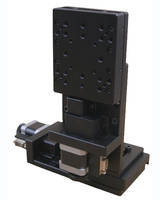 New Dual-Axis XZ Positioning Stages Offer 3 Micron Repeatability and 10 Micron Positional Accuracy