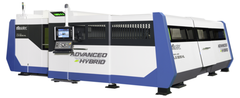 New Hybrid Fiber Laser Machine with Muratec's Punch Press Technology