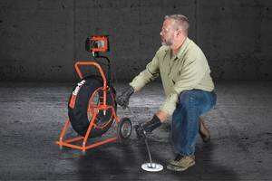 New Gen-Eye X-POD Plus Sewer Camera with 4X Digital Zoom for Close-Up Inspections