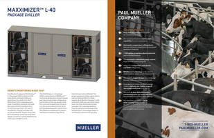 New L-40 Package Chiller with E-Star HiPerForm Condensing Units