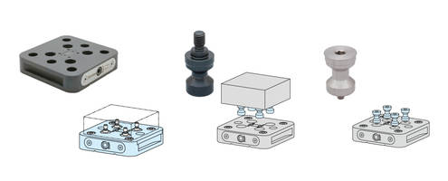 New Flex Zero Bases with 2,700 lbs of Clamping Force