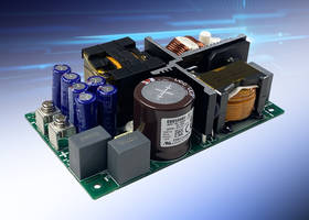 New AC-DC Power Supplies with Input Voltage Range of 85 - 265VAC