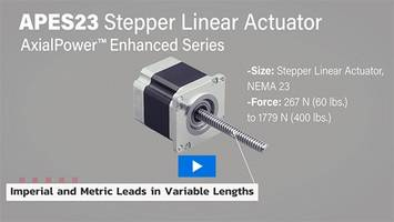 New NEMA23 Frame Size Adds to the AxialPower Enhanced Series From ElectroCraft, Inc
