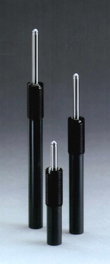 Gas Springs for stock lifting and part ejection.