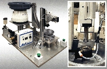 Machine installs internal O-rings and seals,.