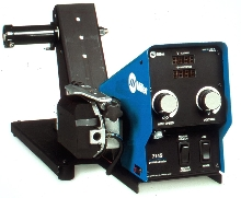 Wire Feeder operates at speeds from 50 to 780 ipm.