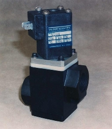 2-Way Poppet Valves feature bubble tight shut-off.