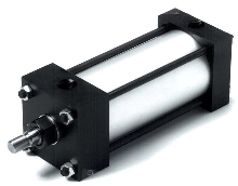 Cylinders are available with bore sizes from 3/4 to 8 in.