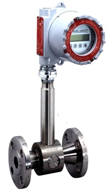 Flowmeter is accurate to ±0.5% of rate.