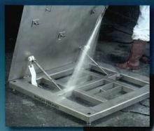 Floor Scales survive washdown operations.