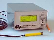 542 Electrostatic Voltmeter