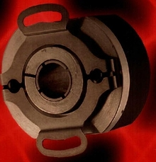 Encoder is available in thru-bore and hollow shaft.