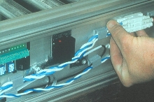 Wiring System suits conveyor and machine builders.
