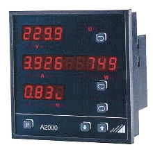 Multi-Function Power Meter can retain 63,000 measurements.