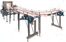 Conveyor System detects metal objects.