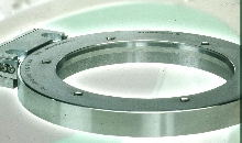 Rotary Encoder is designed for large shafts.