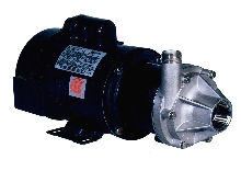 Magnetic Drive Pump has stainless steel impeller.