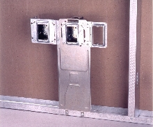 Floor Mount Box Support complies with ADA standards.