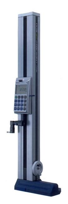 Linear Height Gage is battery powered and portable.