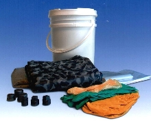 Spill Kit helps perform mercury clean up safely.