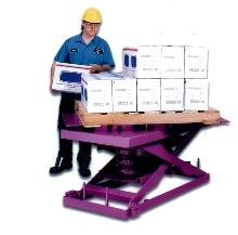 Lift Tables put parts at proper height.