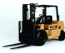 Lift Trucks provide vibration-free power.