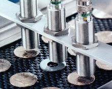 Proximity Sensors ignore ferrous materials.