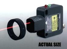 Laser Sensor comes in M18 compatible housing.