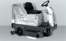 Floor Scrubber cleans 55,000 sq fph.