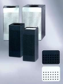 Receptacles suit modern design styles.