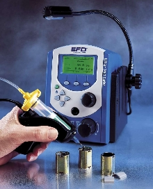 Fluid Dispensing System suits benchtop assembly operations.