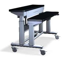 Electric Lift Table raises/lowers to ergonomic heights.