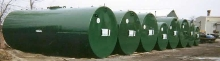 Polyurethane Coating protects underground tanks/pipelines.