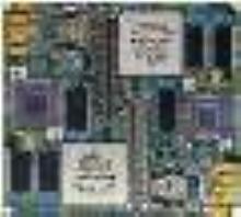 Daughtercards run at 800 MHz.