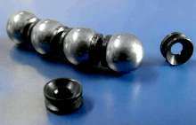 Ball Screws feature elastic spacer technology.